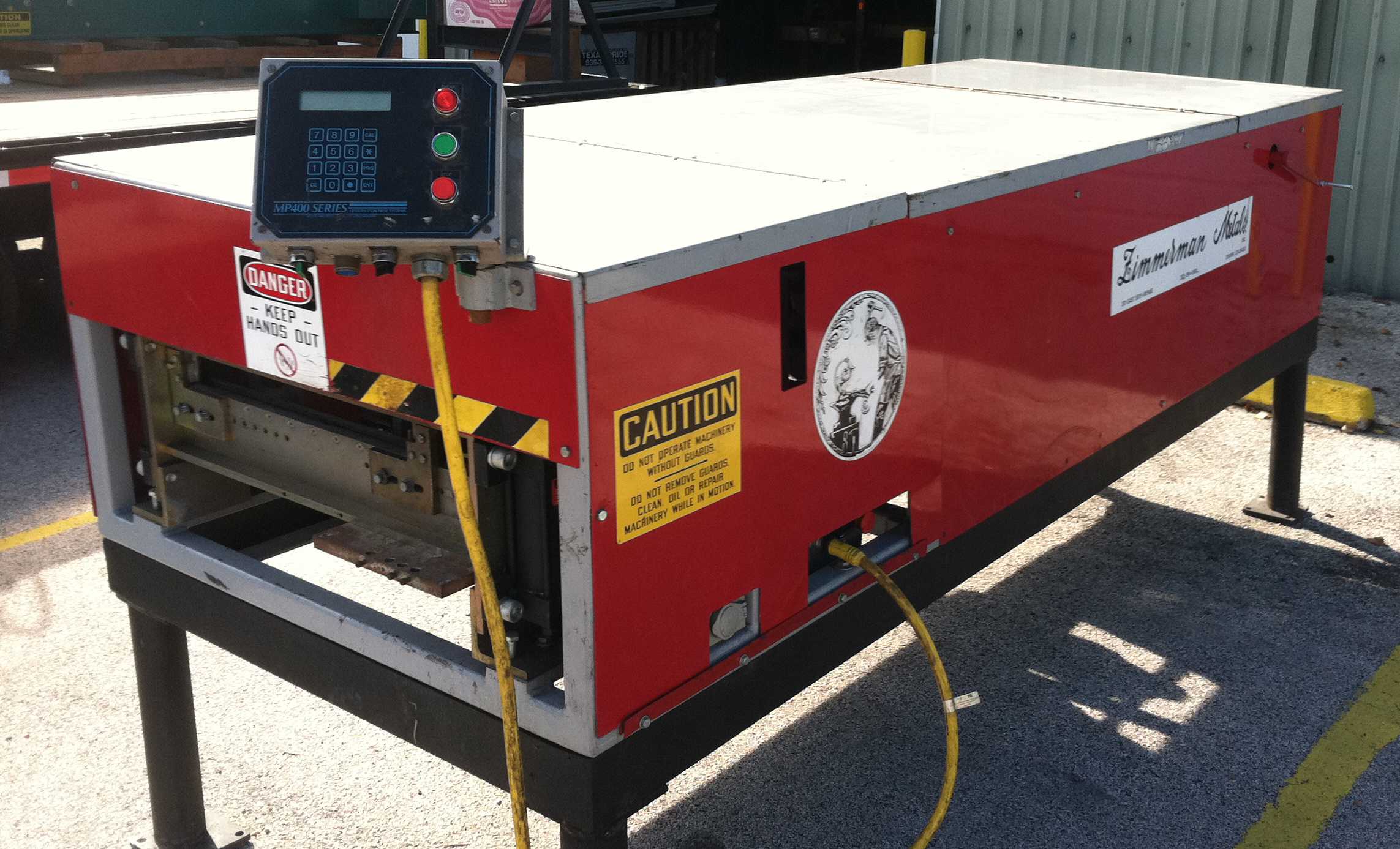 Amazing Used Zimmerman CRPM (Commercial Roof Panel Machine)