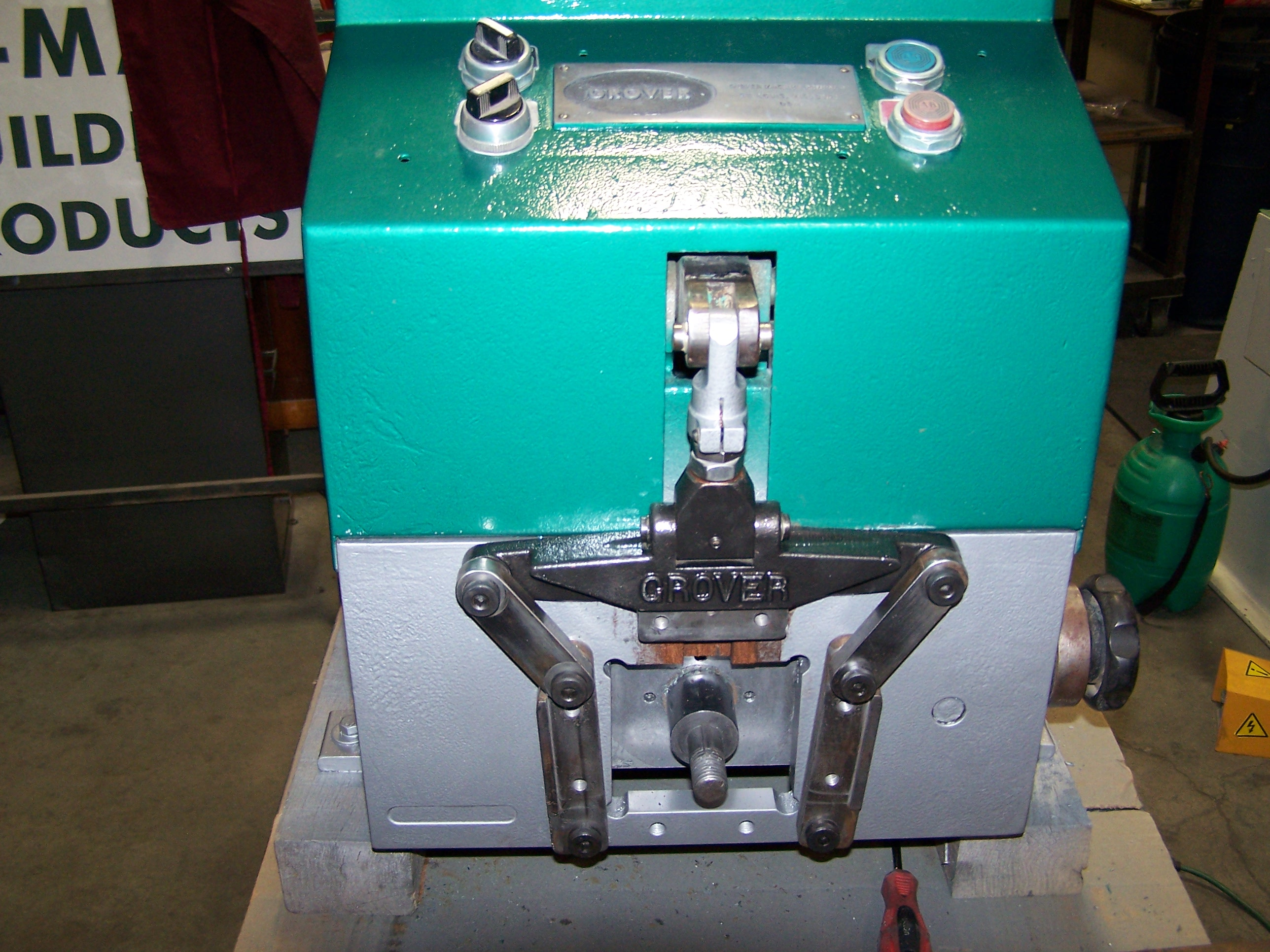 Used Grover 220 Elbow Forming Machine K Mar Building