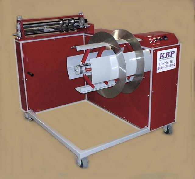 Slitter Recoiler K Mar Building Products Inc